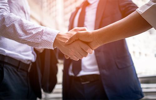 parity legal private legal handshake